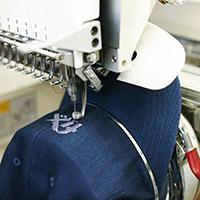 embroidery machine 200
